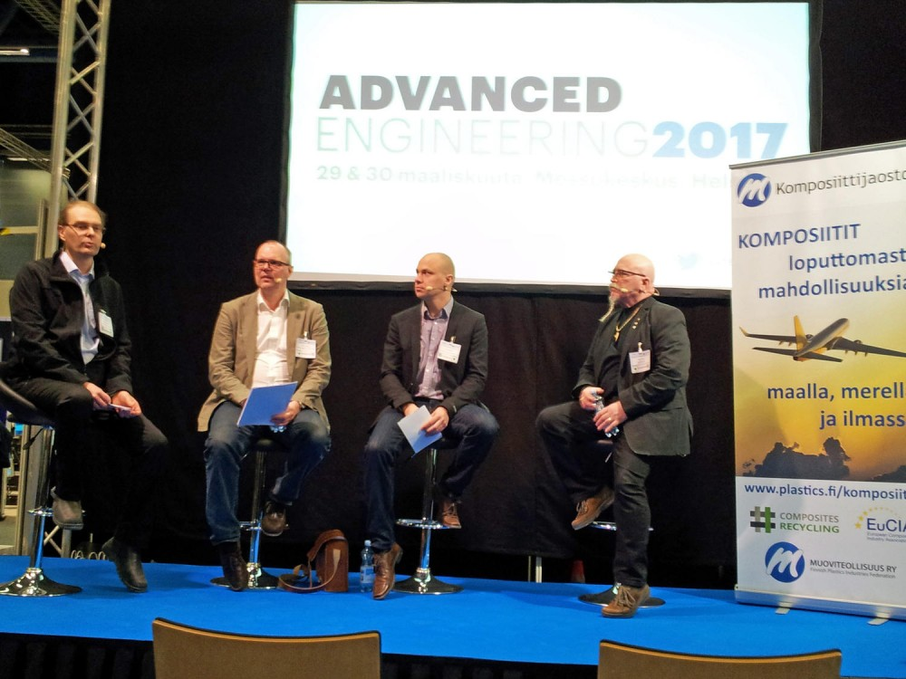 Komposiitit esillä Advanced Engineering Helsinki 2017 -messuilla
