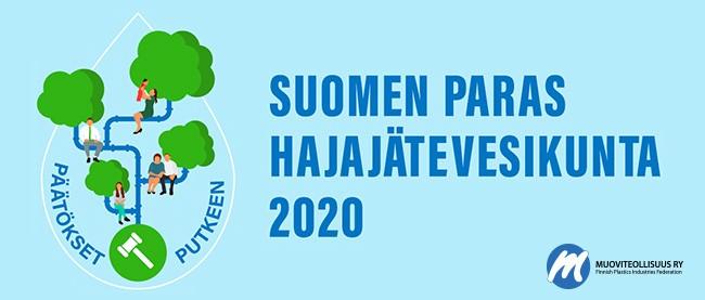 Suomen paras hajajätevesikunta 2020 kuntakilpailu