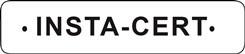 INSTA-CERT logo